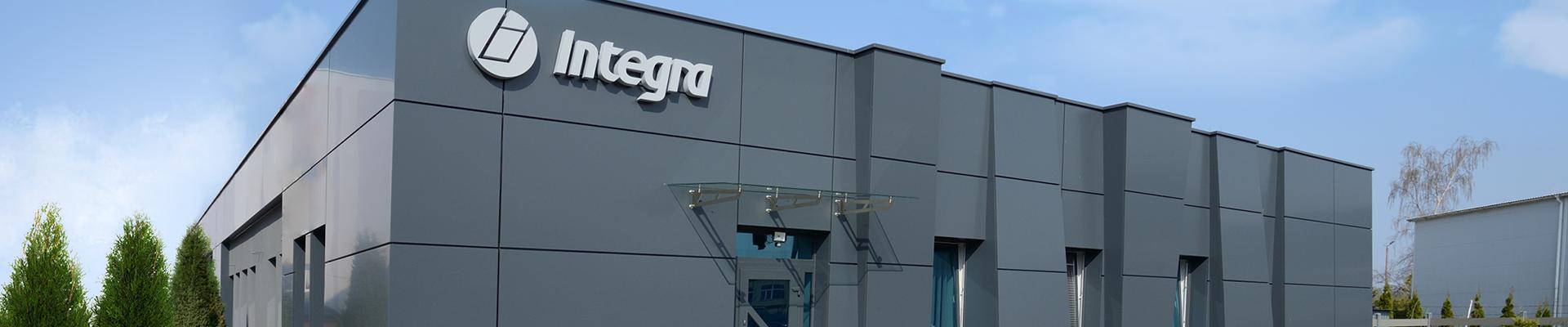 Budynek firmy Integra Software